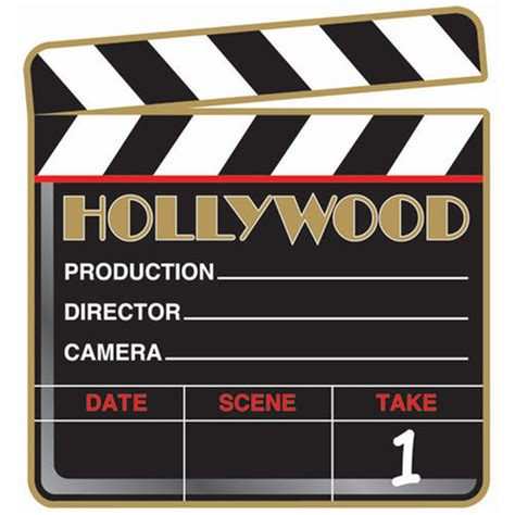 Stars Decorations For Home by Director S Hollywood Clapboard Decoration