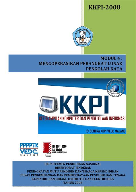 Pengenalan Teknologi Komputer Dan Informasi Buku Komputer modul dan buku panduan kkpi resmi untuk smk kelas x xi