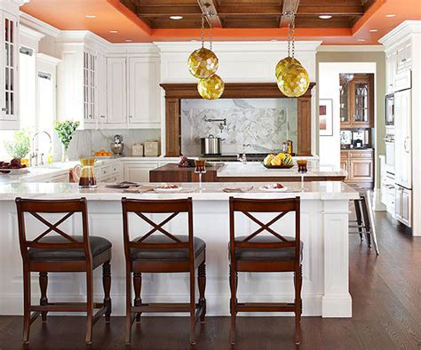 warm kitchen color schemes