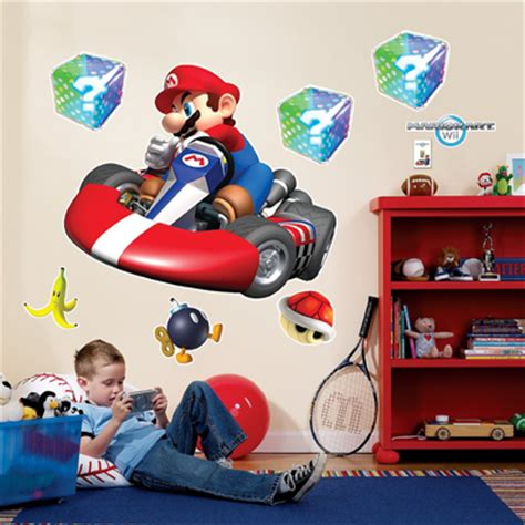 mario kart wall stickers mario wall stickers looking for some cool mario decorations