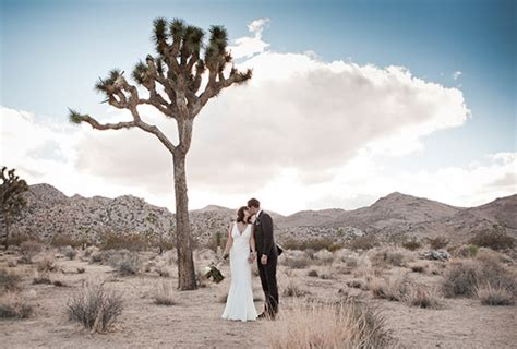 Wedding Ceremony Joshua Tree by Joshua Tree Wedding Travis Real Weddings 100