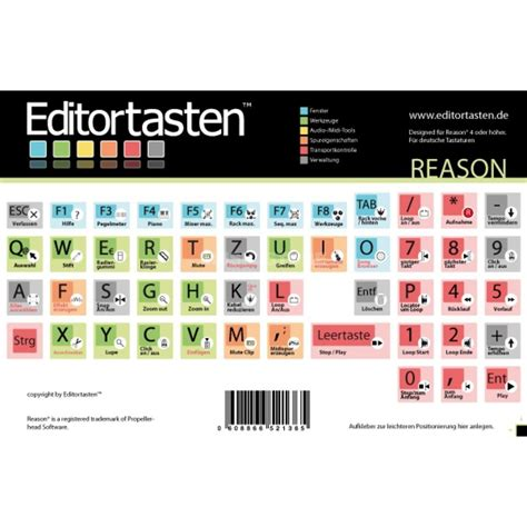 keyboard layout reason editor tasten editortasten reason keyboard sticker assorment
