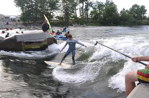 Surfing Montreal by Boise River Park Surf Kayak Rally Riverbreak Magazine