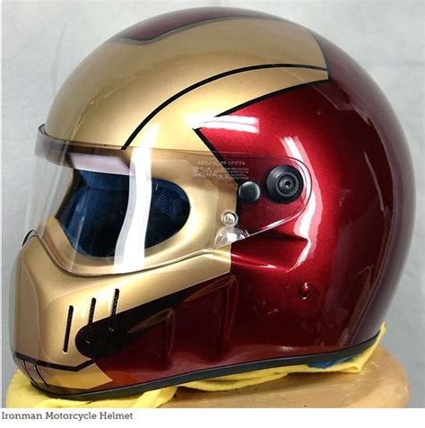 iron man helmet design 30 epic motorcycle helmet designs