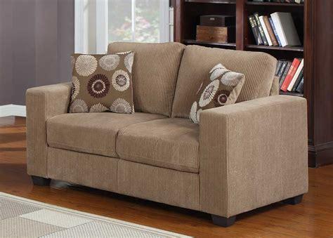 brown corduroy sofa homelegance paramus sofa set brown corduroy u9738 3 at