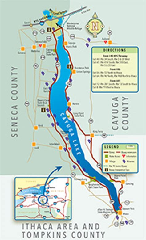 cayuga lake wine trail map welcome to the cayuga lake scenic byway