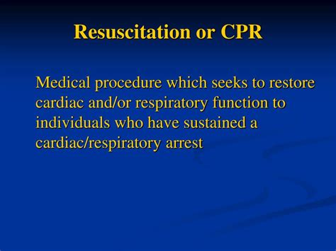 dnr comfort care arrest ppt what does dnr really mean comfort measures only