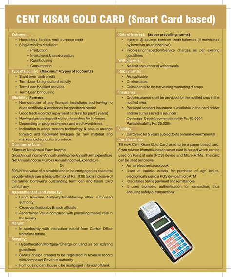 Kisan Credit Card Application Form Field Visit Report