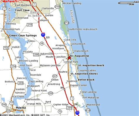 map of st county florida 2013 daytona 500 lodging for st augustine