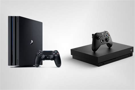 ps4 console vs xbox one playstation 4 pro vs xbox one x ultimate console showdown