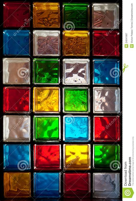Bathroom Mosaic Tile Designs Decorative Glass Blocks Stock Image Image Of Square