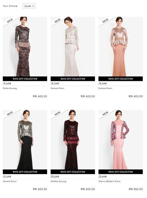 top 5 baju raya paling mahal di malaysia tak sangka rm4