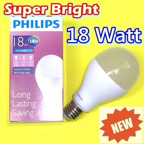 Lu Led Philips 3 Watt jual lu led philips 18 watt bright mitra led