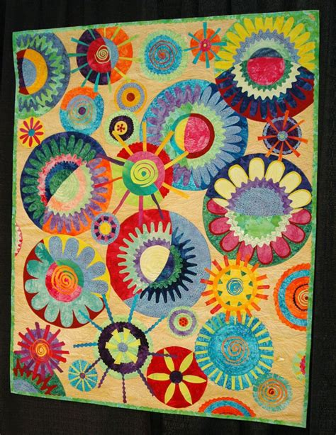 Quilting Circles by Bits 101 Quilt Market Part 5 Shopping Quilts