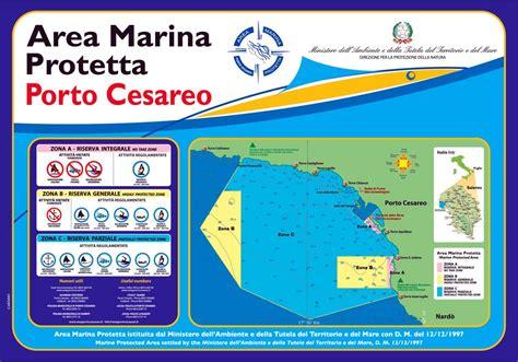 porto cesareo mappa area marina protetta porto cesareo mappa di dettaglio
