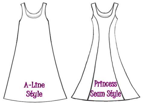 pattern drafting princess line dress dress shirt styles a line or princess cut