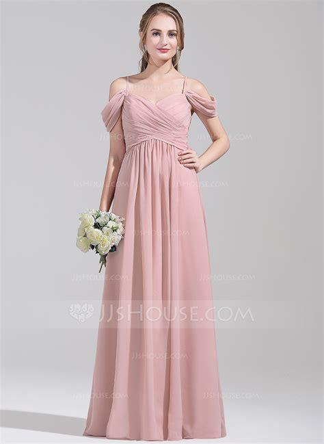 The Shoulder Chiffon Dress a line princess the shoulder floor length chiffon