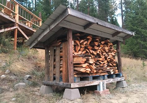 ana white diy firewood storage shed diy projects