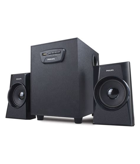 Speaker 2 C buy philips 1400 2 1 multimedia speaker system at best price in india snapdeal