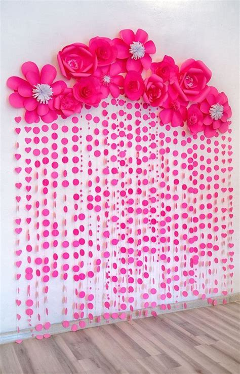 ghirlande di fiori di carta come realizzare dei fantastici fioroni di carta quot 15