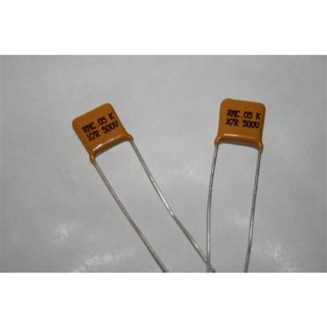 what is x7r capacitor 0 05uf 50nf 500v x7r disc ceramic capacitor x1 fd2h19
