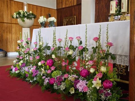 17 best ideas about arreglos florales para iglesia on