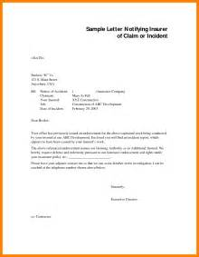 Letter Sle Incident Report Letter Sle 28 Images 31 Incident Report Exles Blank Employee Incident