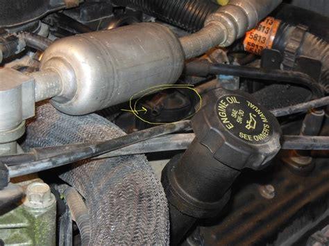 vacuum   intake manifold  pcv valve  tahoe