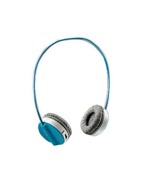 Headset Rapoo rapoo bluetooth stereo headset h6020 blue buy rapoo bluetooth stereo headset h6020 blue