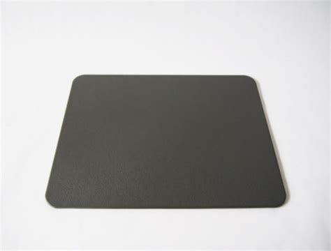 grey leather desk pad top grain genuine leather blotter