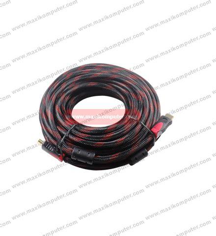 Kabel Hdmi Bulat 10m kabel hdmi to hdmi 10m jala bulat