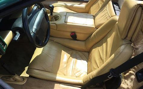 Car Seat Esprit interior 1991 lotus esprit classiccars journal