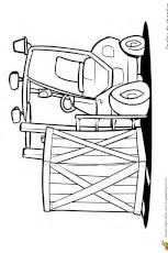 Coloriage Engins de Chantier Camion Grue