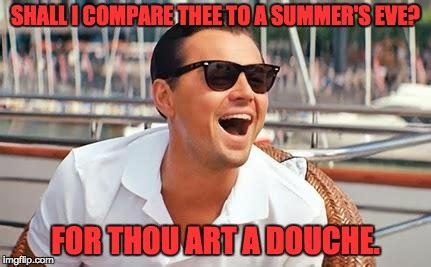 Summers Eve Meme - leonardo dicaprio laughing imgflip