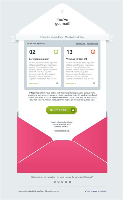 designing an email template 89 best images about email design inspiration on