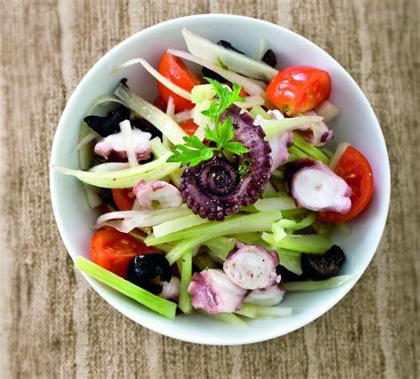 insalata di polpo e sedano insalata di polpo e sedano bianco cucina naturale
