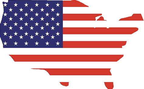 Us State Flag Outlines by Quot American Flag Country Outline America Americana Stripes Usa Simple