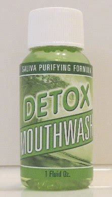 Advanced Detox Solution Swab Test by Detox Mouthwash
