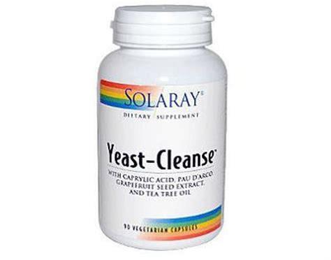 Yeast Fungal Detox Reviews by Solaray Yeast Cleanse Review Does This Product Really Work