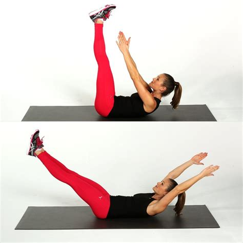 crunch  core workout  women popsugar fitness