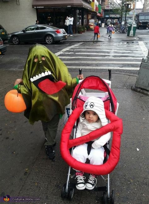 slimer   ghostbuster sign halloween costume