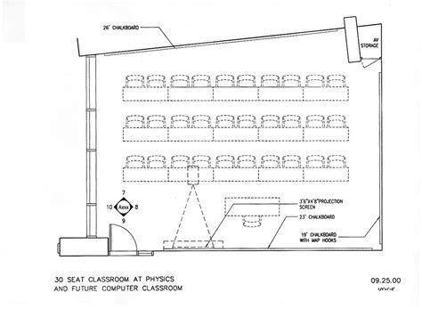 classroom layout for 30 students physics 30 classroom plan