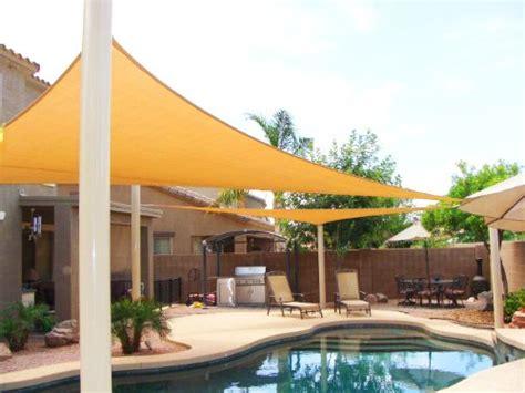 big oversized triangle home garden patio sun sail shade 20