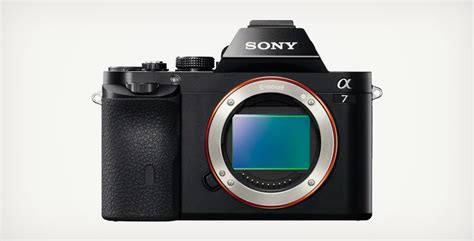 sony a7 price sony a7 frame unveiled cool material