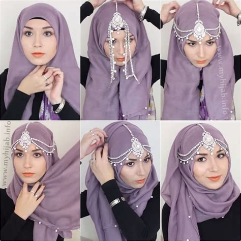 Tutorial Jilbab Nabiilabee | 105 best images about muslim evening gowns on pinterest