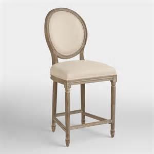 linen counter stool world market