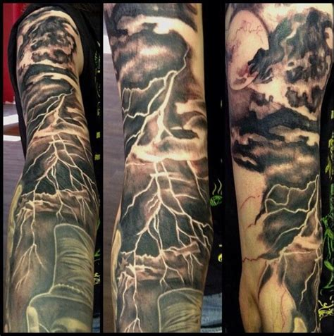 lighting tattoo best 25 ideas on negative