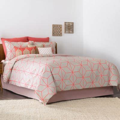 coral queen bedding buy coral bedding sets full from bed bath beyond