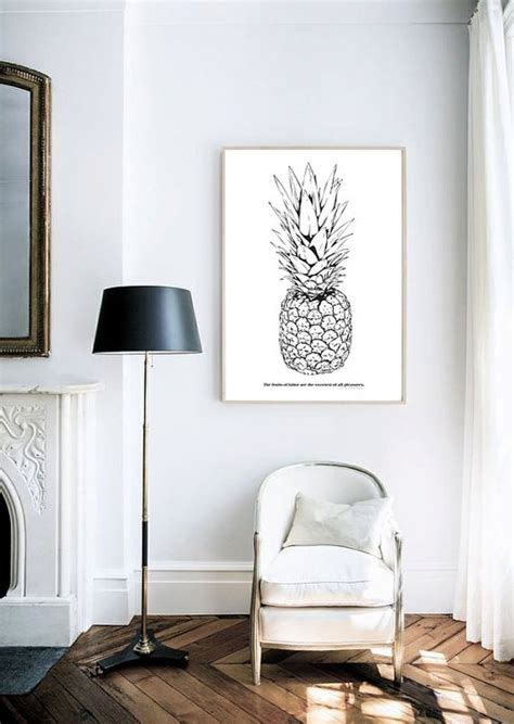 monochrome home decor 35 pineapple home d 233 cor ideas to add a tropical cheer