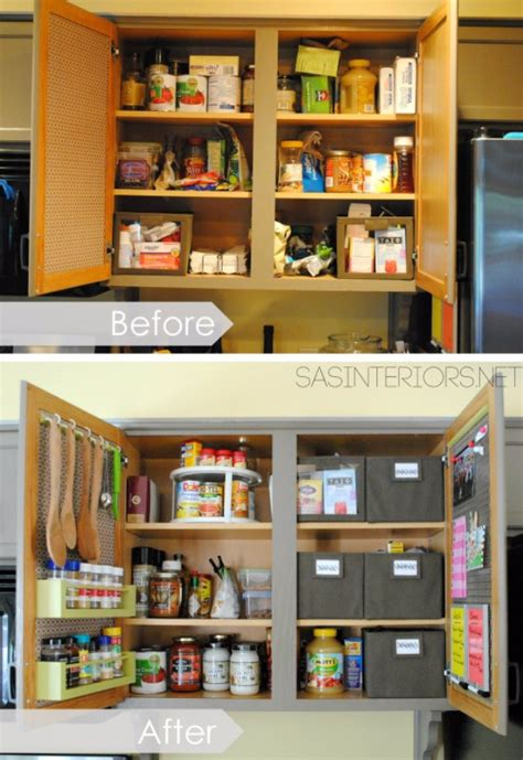 simple  awesome diy ways  organize  kitchen